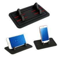 Grip Silicone Pad Car Dashboard Mount Holder Cradle for Cell Phone Universal
